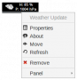 panel-plugins:weather-plugin-widget-and-context-menu.png